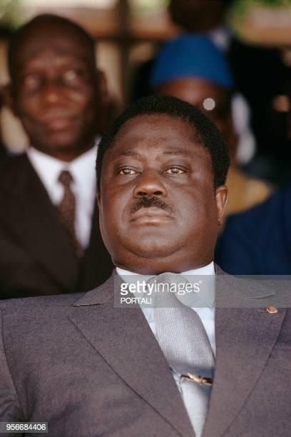 Henri Konian Bédié, Président de la Côte d'Ivoire de 1993 à 1999.