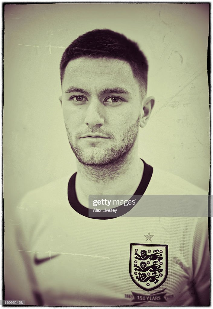 Henri Lansbury of England Under-21s poses for a portrait at St Georges Park on March 19, 2013 in Burton-upon-Trent, England.