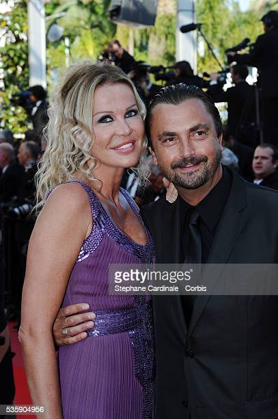 Henri Leconte and Florentine Leconte at the Premiere for 'Biutiful' during the 63rd Cannes International Film Festival