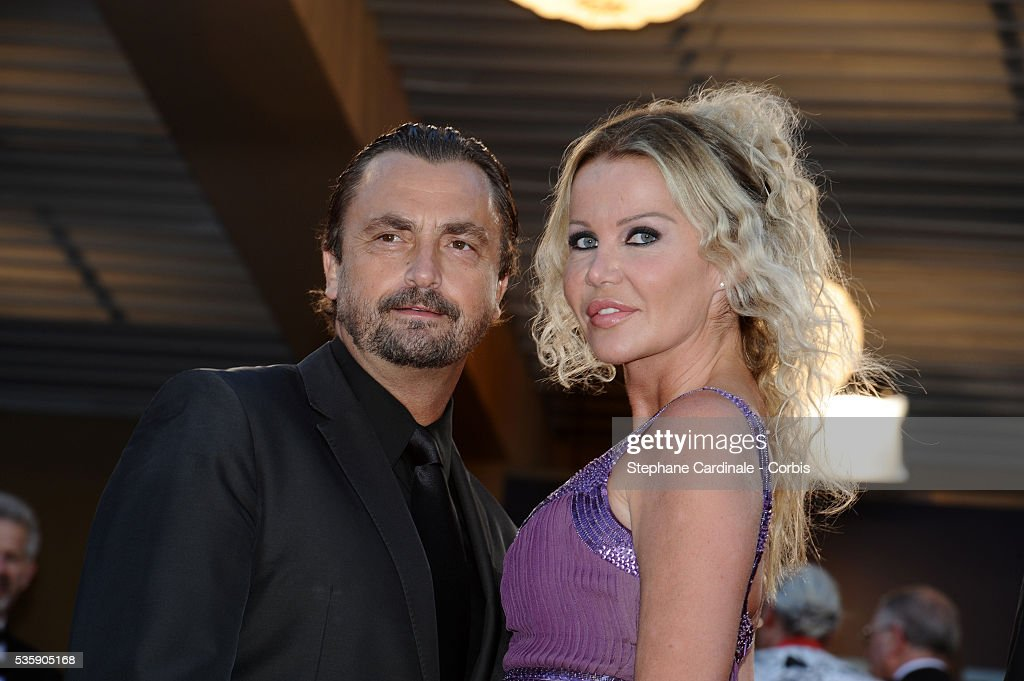 Henri Leconte and Florentine Leconte at the Premiere for 'Biutiful' during the 63rd Cannes International Film Festival.