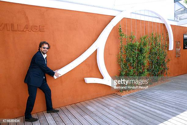 Henri Leconte attends the 2015 Roland Garros French Tennis Open at Roland Garros on May 24 2015 in Paris France