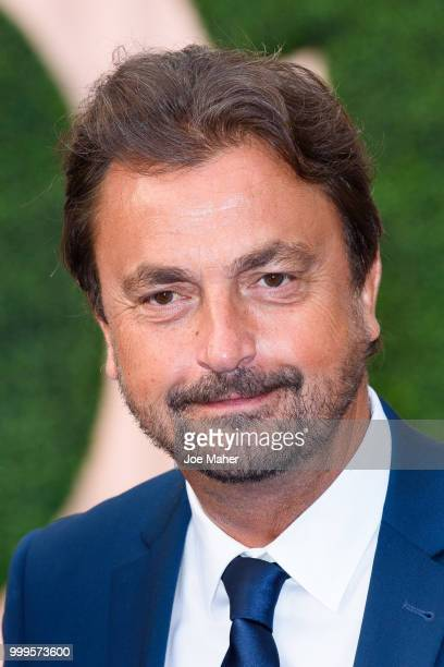 Henri Leconte attends the Wimbledon Champions Dinner at The Guildhall on July 15 2018 in London England