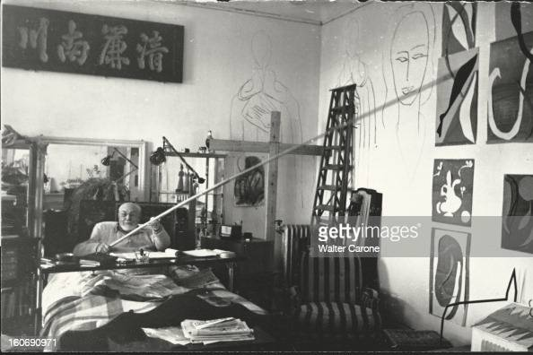 Henri matisse in nice pictures getty images for Chambre d hotel nice