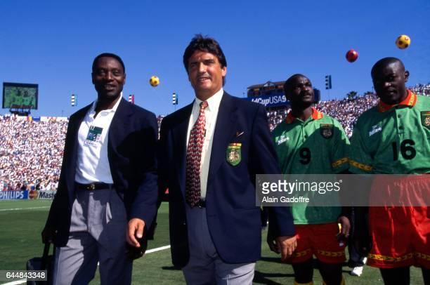 Henri Michel Cameroun / Suede Coupe du Monde 1994 Photo Alain Gadoffre / Icon Sport