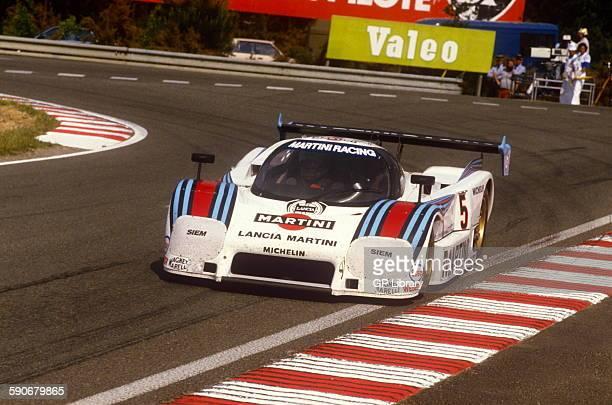 5 Henri Pescarolo and Mauro Baldi Lancia Ferrari LC2 Le Mans 16 June 1985