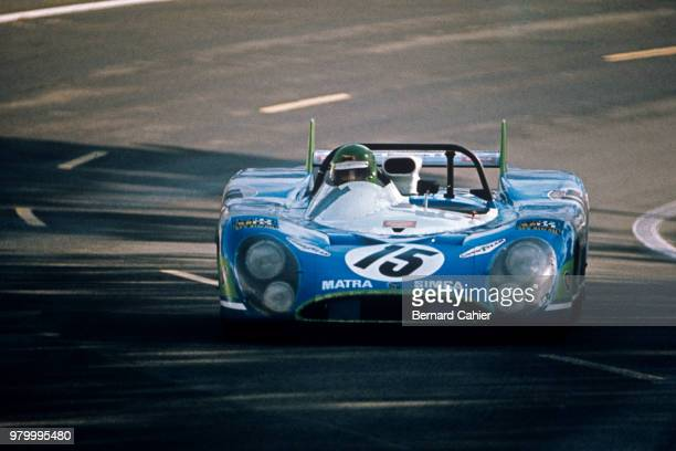 Henri Pescarolo MatraSimca MS670 24 Hours of Le Mans Le Mans 11 June 1972 Henri Pescarolo on the way to victory in the 1972 24 Hours of Le Mans