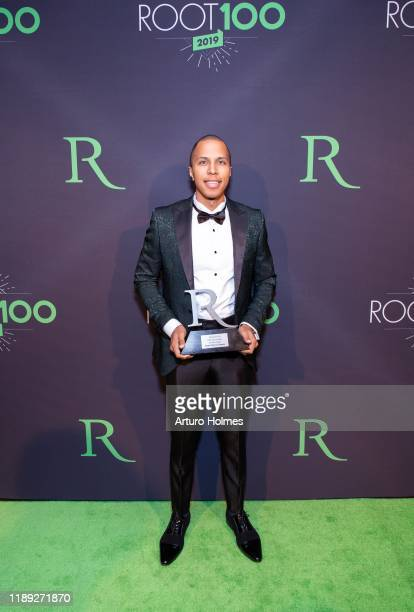 Henri PierreJacques attends 2019 ROOT 100 Gala at The Angel Orensanz Foundation on November 21 2019 in New York City