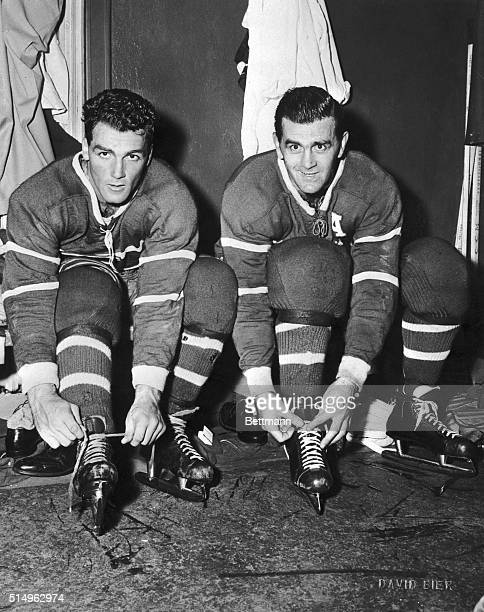 Henri Pocket Rocket Richard and his big brother Maurice the original Rocket give the Montreal Canadiens what is shaping up as one of professional...
