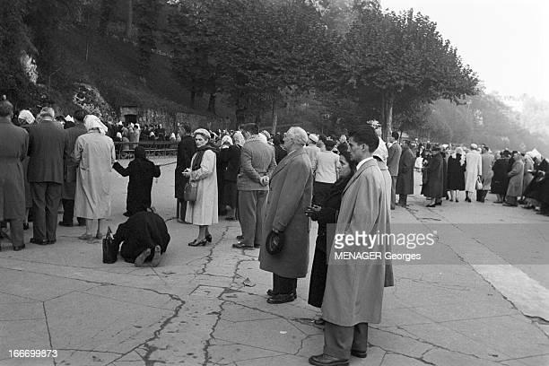 Henri Relea Return Of Fln Prisoners. 1958, 24 octobre à Tarbes : retour en France métropolitaine d'Henri RELEA, soldat détenu par le FLN en Algérie...