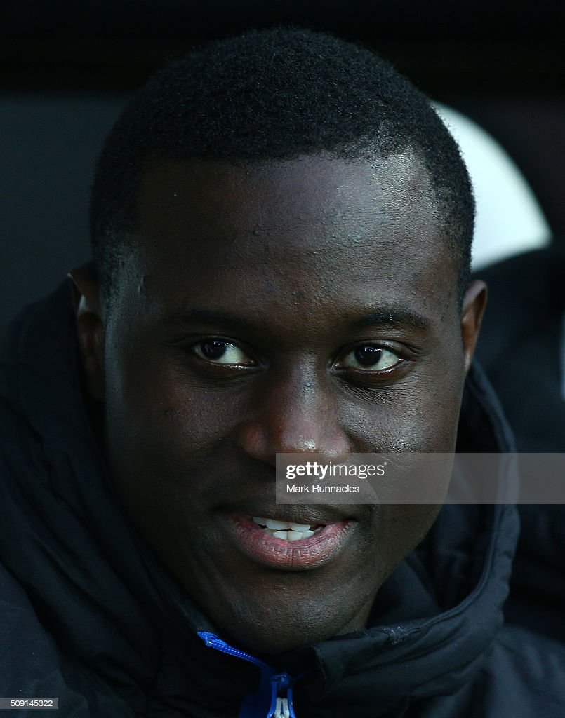 Henri Saivet of Newcastle United on the bench during the Barclays Premier League match between Newcastle United FC and West Bromwich Albion FC at St James' Park on February 6, 2016 in Newcastle Upon Tyne, England.