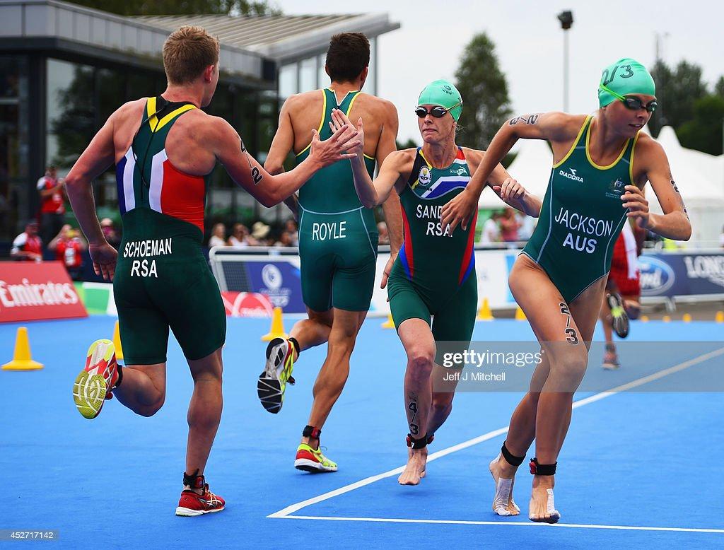 20th Commonwealth Games - Day 3: Triathlon