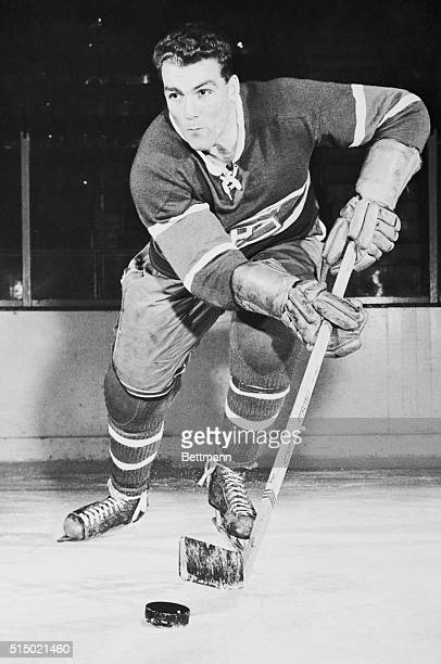 Henri The Rocket Richard right wing for the Montreal Canadiens