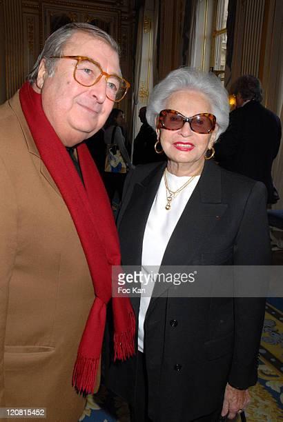 Henri Tisot and Paulette Coquatrix