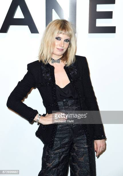 Henri wearing CHANEL attends as CHANEL celebrates the launch of the Coco Club a BoyFriend Watch event at The Wing Soho on November 10 2017 in New...