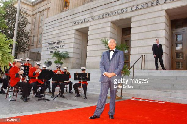 Henri Zimand founder of Zimand Entertainment during A Celebration Dinner for the opening of the Donald W Reynolds Center for American Art and...