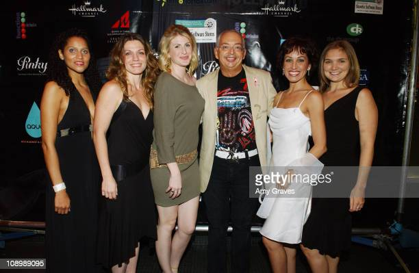 Henri Zimand with Upright LA Cabaret during Zimand Entertainment Gala at the LaFemme Film Festival at Wilshire Theatre in Beverly Hills, California,...