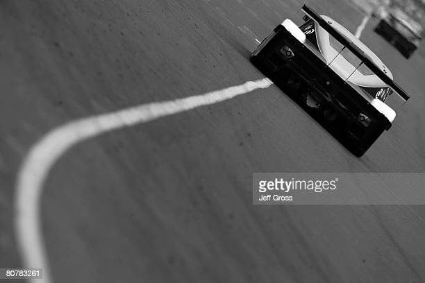 Henri Zogaib and Ryan Dalziel drive the SAMAX BMW Riley during the Mexico City 250 at Autodromo Hermanos Rodriguez on April 19 2008 in Mexico City...