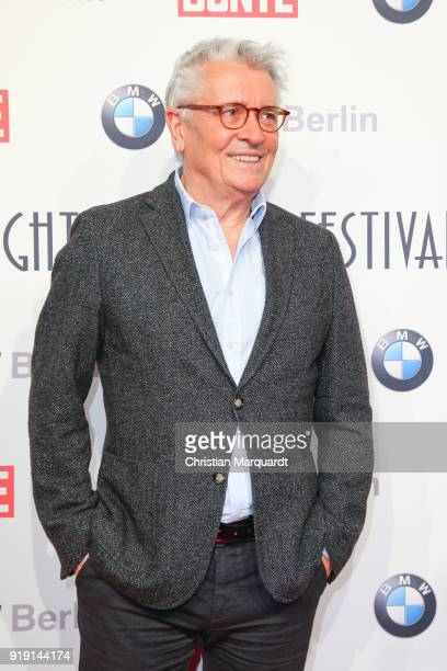 Henrie Huebchen attends the BUNTE BMW Festival Night on the occasion of the 68th Berlinale International Film Festival Berlin at Restaurant...