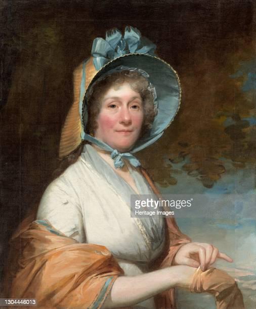 Henrietta Marchant Liston , 1800. Artist Gilbert Stuart.