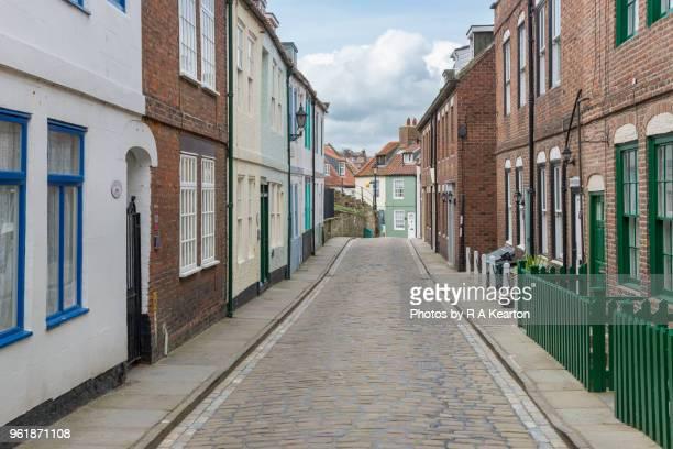 Henrietta street, Whitby, North Yorkshire, England