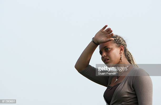 Henrietta Zuel of England looks on during the first round of the Hypovereinsbank Ladies German Open Golf at Golfpark Gut Hausern on May 29 2008 near...