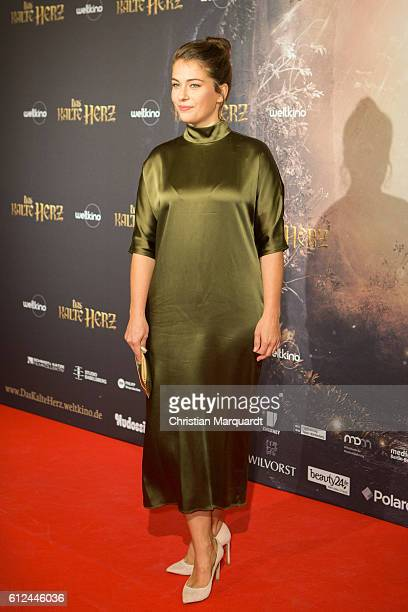 Henriette Confurius attends the 'Das Kalte Herz' premiere at Kino International on October 4 2016 in Berlin Germany