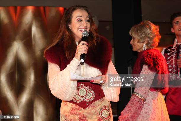 Henriette Heichel Strobel during the surprise party for the worldwide comeback of Ralph Siegels band 'Dschinghis Khan' at H'ugo's restaurant on May...