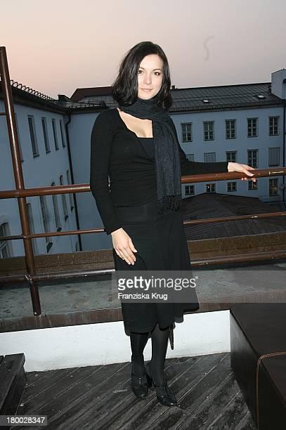 Henriette Richter Roehl Bei Dem Ndf Empfang ' After Work 2007' Im Hotel 8Seasons Am In München 140307