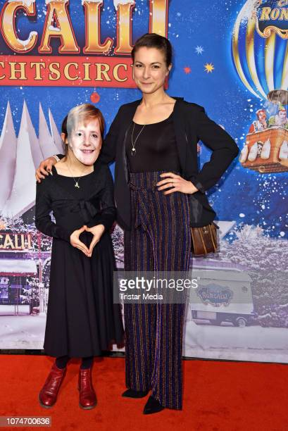 Henriette Richter-Roehl and her daughter Minna Luise Richter-Roehl attend the 15th Roncalli christmas circus premiere at Tempodrom on December 22,...