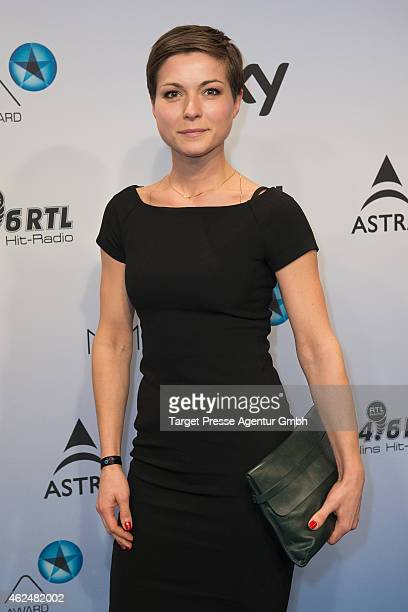 Henriette Richter-Roehl attends the Mira award 2015 at Station on January 29, 2015 in Berlin, Germany.