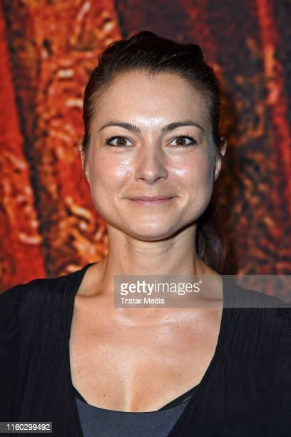 Henriette Richter-Roehl attends the Schiller-Theater repertoire 2019/2020 prress conference on August 8, 2019 in Berlin, Germany.