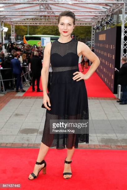Henriette RichterRoehl attends the UFA 100th anniversary celebration at Palais am Funkturm on September 15 2017 in Berlin Germany