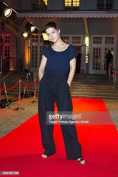 Henriette Richter-Roehl attends the 'Zwischen den Zeiten' premiere on October 1, 2014 in Berlin, Germany.