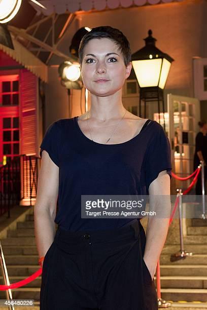 Henriette RichterRoehl attends the 'Zwischen den Zeiten' premiere on October 1 2014 in Berlin Germany