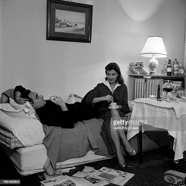HenriGeorges And Vera Clouzot For The Release Of The Film 'Les Diaboliques' Paris Période 19551956 Lors de la présentation du film 'Les diaboliques'...
