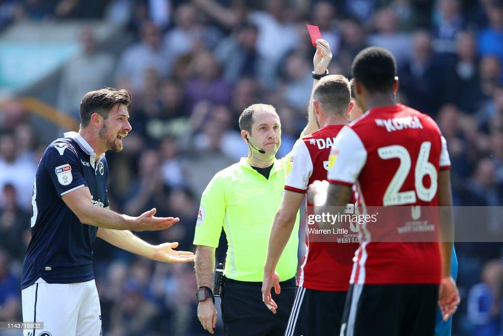 Millwall v Brentford - Sky Bet Championship : News Photo
