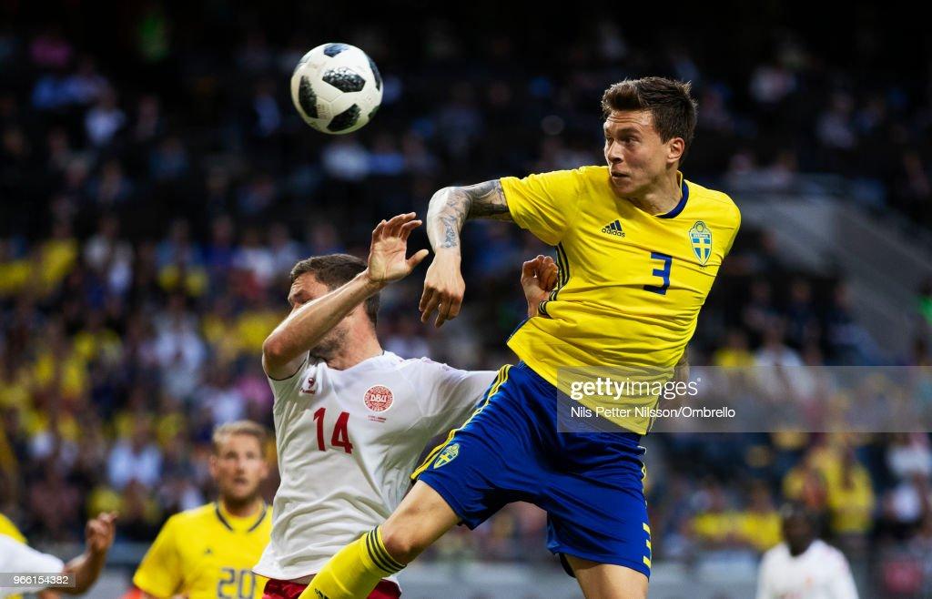Sweden v Denmark - International Friendly : News Photo