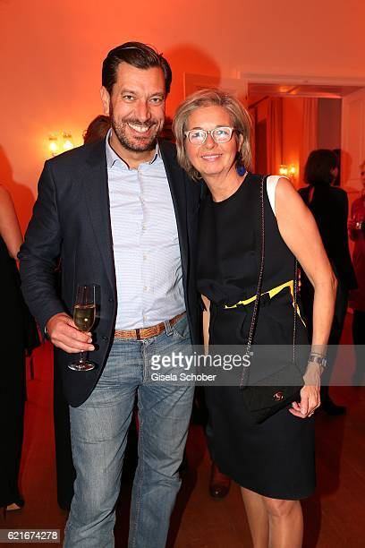 Henrik Ekdahl Managing Director IWC Northern Europe and Inga GrieseSchwenkow during the birthday party for the 10th anniversary of ICON at...