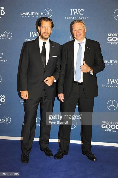 Henrik Ekdahl Stefan Blöcher 1 'Laureus Sport for Good Night'Wochenende 'Neue Kleine Olympiahalle' München Bayern Deutschland Europa Benefiz...