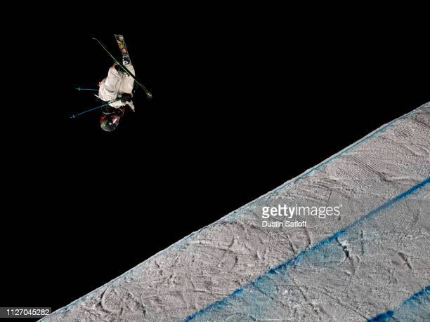 Henrik Harlaut of Sweden competes in the Men's Ski Big Air Final during the FIS Freestyle Skiing World Championships on February 2 2019 at Canyons...