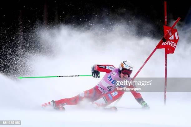 Henrik Kristoffersen of Norway competes in the Audi Birds of Prey World Cup Men's Giant Slalom on December 3 2017 in Beaver Creek Colorado