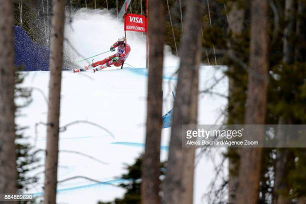 Henrik Kristoffersen of Norway in action during the Audi FIS Alpine Ski World Cup Men's Giant Slalom on December 3 2017 in Beaver Creek Colorado