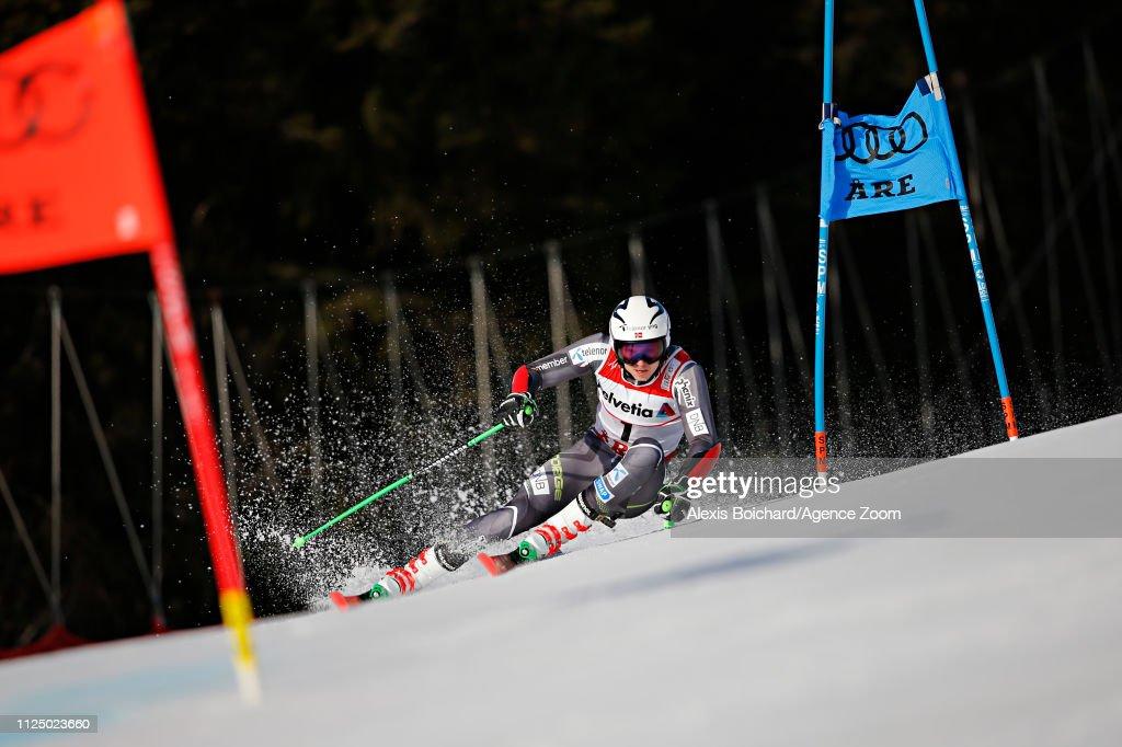 SWE: FIS World Ski Championships - Men's Giant Slalom
