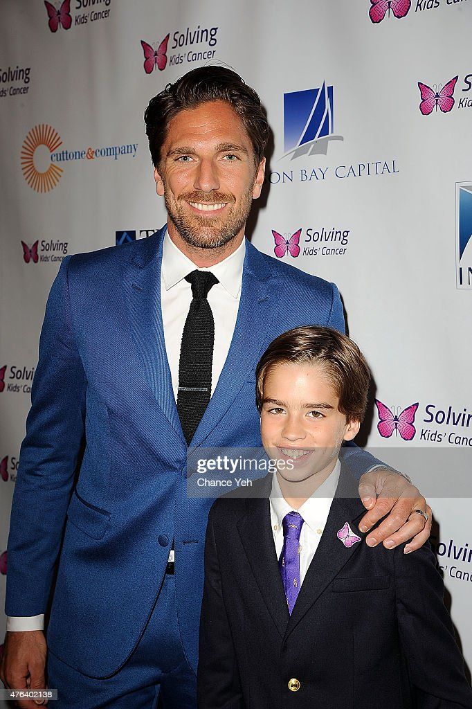Henrik Lundqvist And Oliver London Attend 6th Annual Solving Kids
