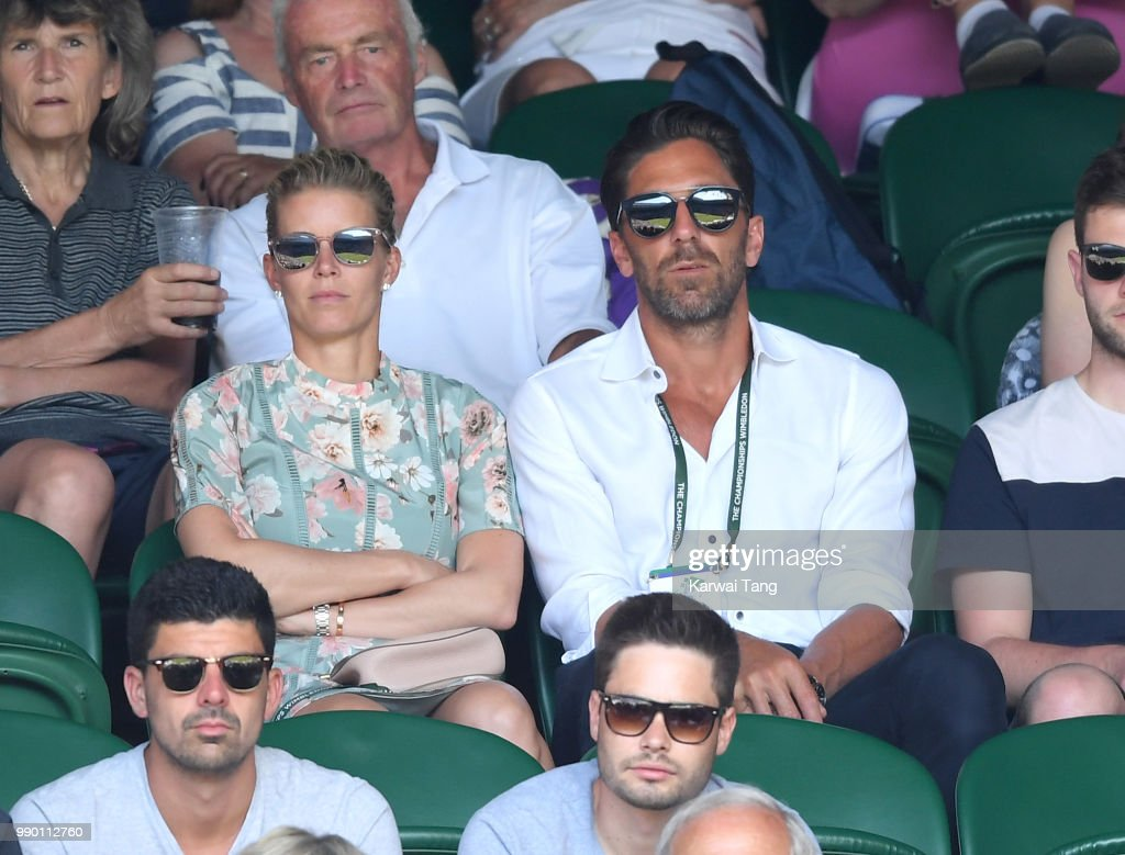 Henrik Lundqvist And Therese Lundqvist Attend Day One Of The News