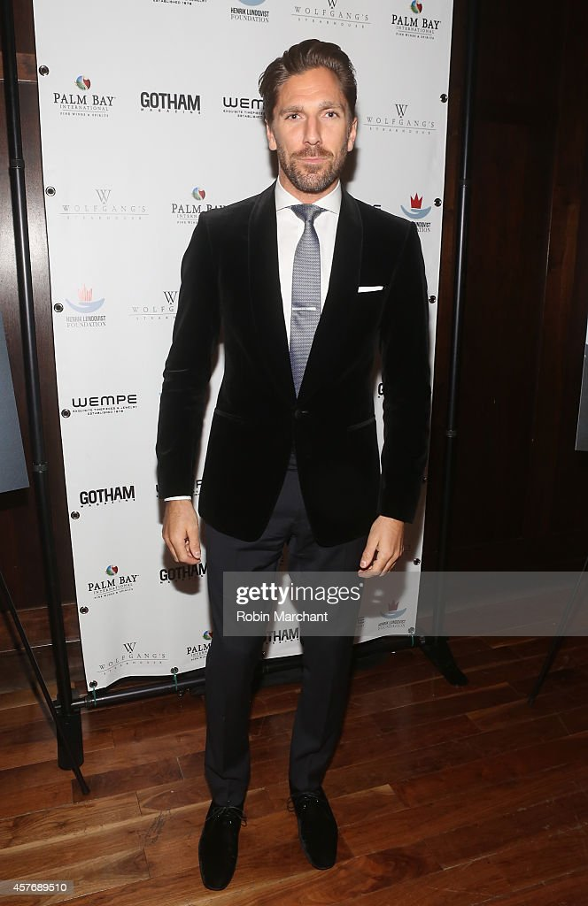 Gotham Magazine Celebrates Cover Star Henrik Lundqvist At Wolfgang's Steakhouse
