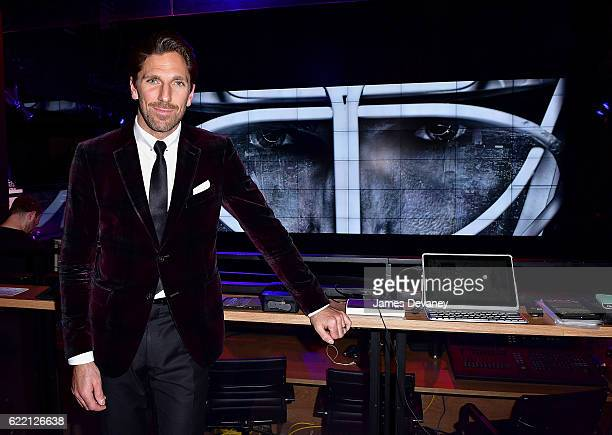 Henrik Lundqvist attends The 2nd Henrik Lundqvist Foundation UnMasked Event at Samsung 837 on November 9 2016 in New York City
