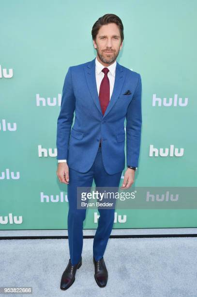 Henrik Lundqvist attends the Hulu Upfront 2018 Brunch at La Sirena on May 2, 2018 in New York City.