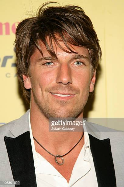 Henrik Lundqvist during ESPN Magazine Summer Fun Party Arrivals at Pier 59 at Chelsea Piers in New York City New York United States