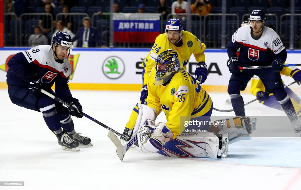 Sweden v Slovakia - 2017 IIHF Ice Hockey World Championship